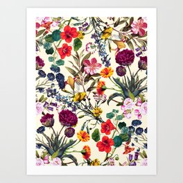 Magical Garden V Art Print