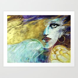 Jezebel Art Print