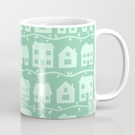 Cottage Charm in Peppermint Green Coffee Mug
