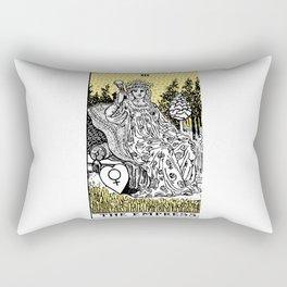 Modern Tarot Design - 3 The Empress Rectangular Pillow