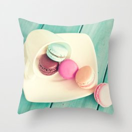 Spilling Candy Throw Pillow