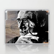 Hank on wood Laptop & iPad Skin