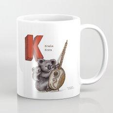 Animals & Instruments ABCs – K Coffee Mug