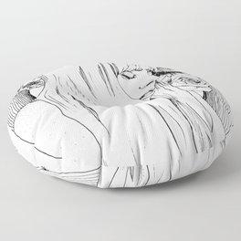 Joni Mitchell Floor Pillow