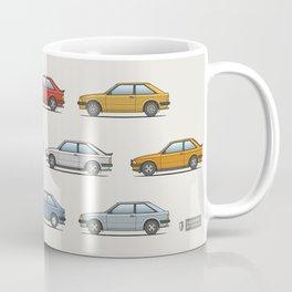 Ford Escort Mk3 XR3i - Car Print Coffee Mug