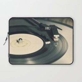 Vintage Vinyl Record 2 Laptop Sleeve