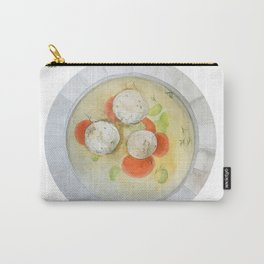 Passover Matzo Ball Soup (white) Carry-All Pouch