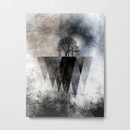 TREES over MAGIC MOUNTAINS II Metal Print