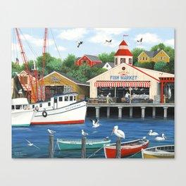 Pelican Bay Canvas Print