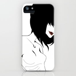 Sigh iPhone Case