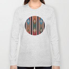 American Native Pattern No. 187 Long Sleeve T-shirt