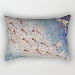 Dragonfly Dreaming Rectangular Pillow
