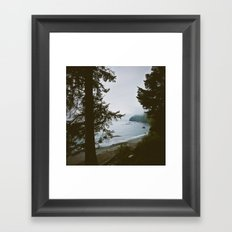 Ocean Beach  Framed Art Print