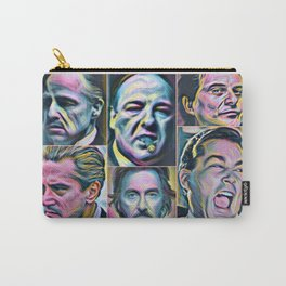 Gangsters painting movie Goodfellas Godfather Casino Scarface Sopranos Carry-All Pouch