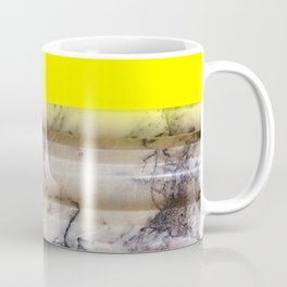 Greek Yellow Marble Coffee Mug