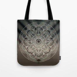 Light Mandala Tote Bag