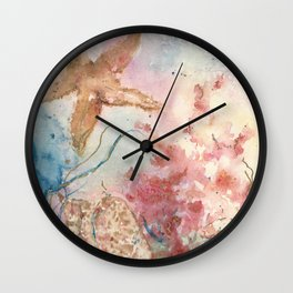 Jolie Etoile de Mer Wall Clock
