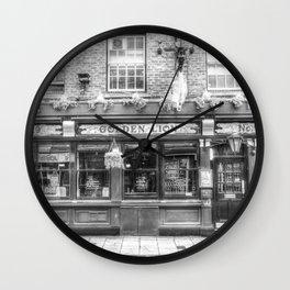 The Golden Lion Pub York Wall Clock