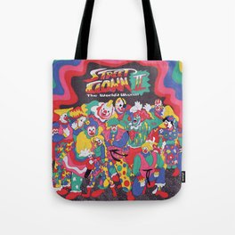 Street Fighter Clown Edition Tote Bag