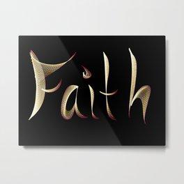 Faith Metal Print