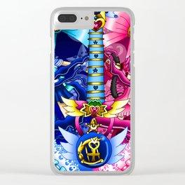 Sailor Mew Guitar #15 - Sailor Mercury & Mew Ichigo Clear iPhone Case