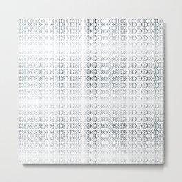 joy alphabet [ need more toner ] Metal Print