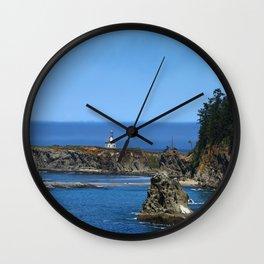 Cape Arago Lighthouse Wall Clock