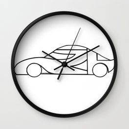 Car / 차 Cha Wall Clock