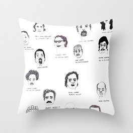 Serial Killers USA, Parts 1&2 Throw Pillow