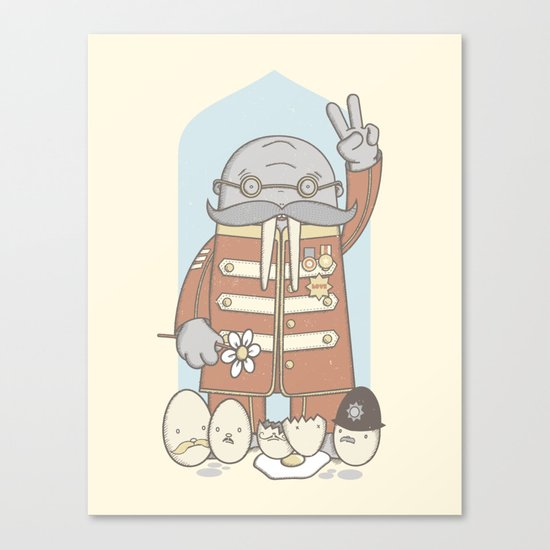 Meet The Walrus Canvas Print