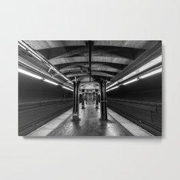 Jay Street Metro Tech Subway Station Metal Print