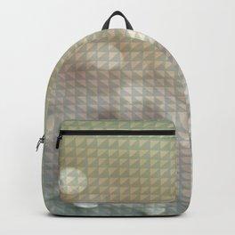 Bokeh Triangle Optical Illusion Backpack