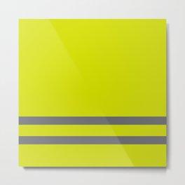 Yellow Vest French revolution #society6 #decor #buyart #artprint Metal Print