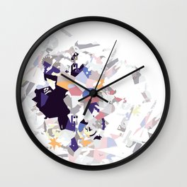 Shine Crazy D Wall Clock