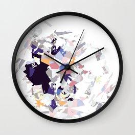 Shine Crazy D Wall Clock