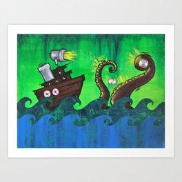 Thieves Art Print