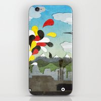 chile iPhone & iPod Skins featuring Centro de Chile by i am nito