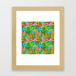 Jungle Groove Framed Art Print