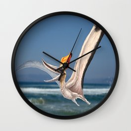 Male Pteranodon Sternbergi Reconstruction Wall Clock