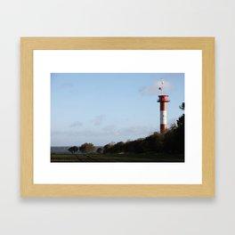 Leuchtturm Marienleuchte Framed Art Print