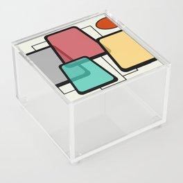 Mid-Century Modern Art Landscape 1.1 Acrylic Box