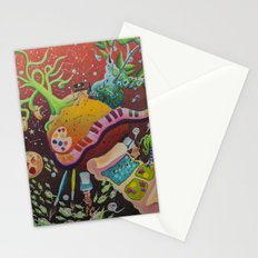 Inspired planet Stationery Cards
