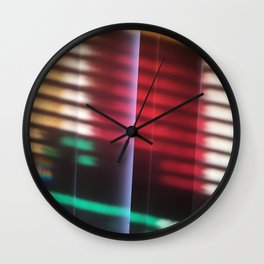 Layers of Light Wall Clock