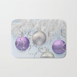 Christmas background Bath Mat