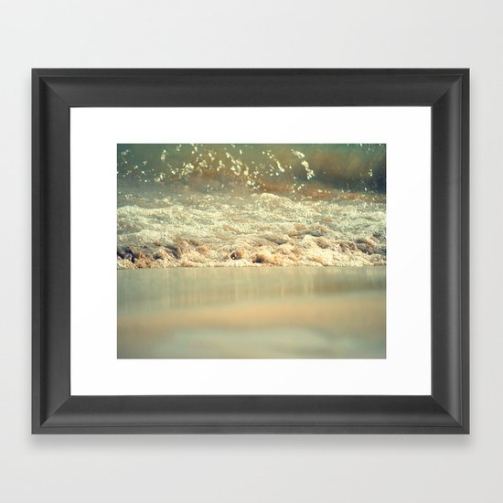 When I was a fish.... Framed Art Print