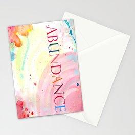 Abundance Stationery Cards