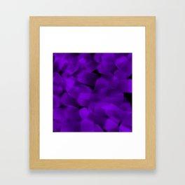 Translucent Stripes of Purple Ribbon Framed Art Print