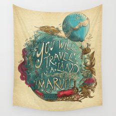 Jules Verne Wall Tapestry