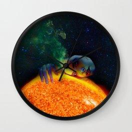Face 2 Sun Wall Clock