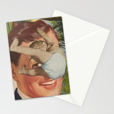 Raining Babies Stationery Cards